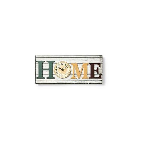 HORLOGE MURALE DANS UN CADRE EN BOIS | DESIGN « HOME » NEDIS