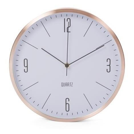 Horloge murale en aluminium - à_ 30 cm