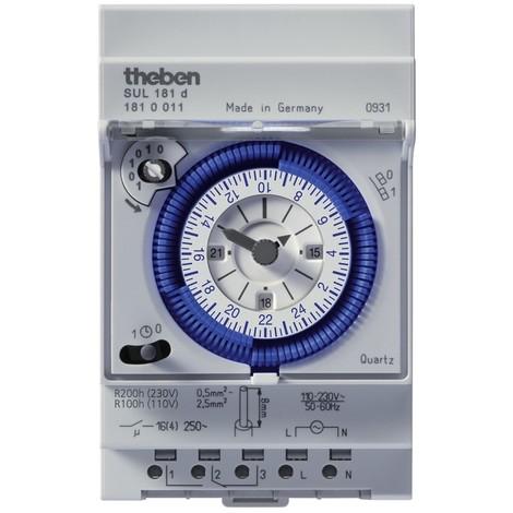 Horloge Programmable Analogique SUL 181 d Theben