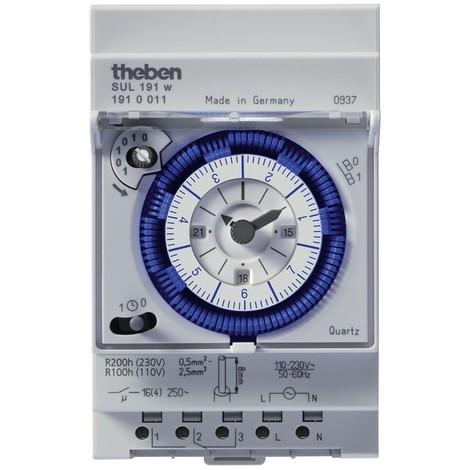 Horloge Programmable Analogique SUL 191 w Theben
