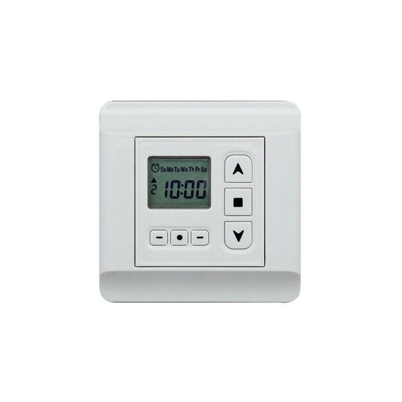 Horloge Programmable Pour Automatiser Un Volet Roulant équipé Du0027un Moteur  électrique Filaire   TCT601