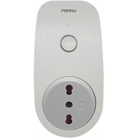 Horloge WiFi avec prise de courant Perry 1IO0057WF