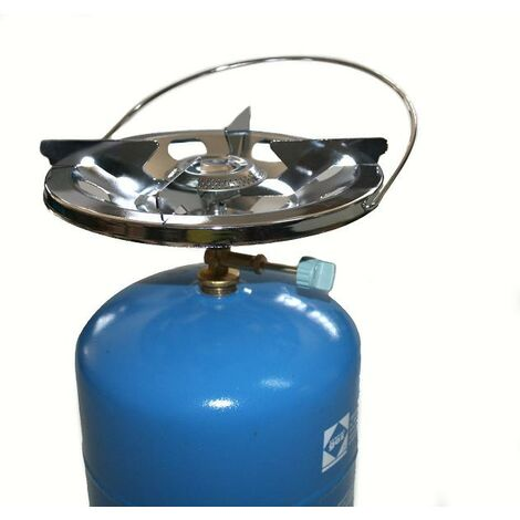 Hornillo 22 Cm. C/asa+grifo Azul