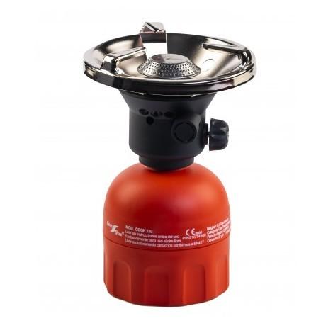 Hornillo de camping encendido convencional (Cartucho de gas no incluido)
