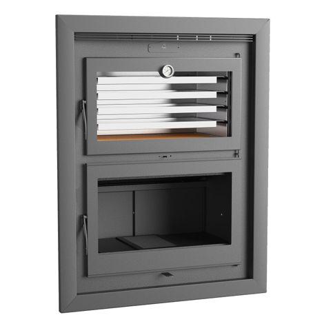 Horno de leña insertable HLI 200 Interior