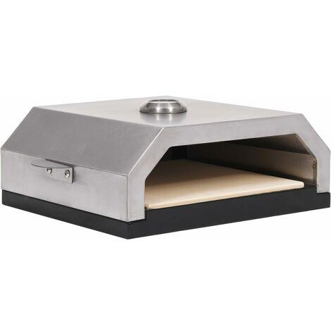 Horno de pizza con piedra de cerámica para barbacoa carbón gas