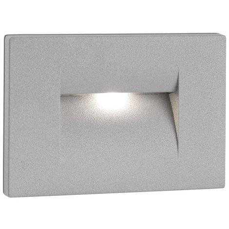HORUS1 EMPOTRABLE GRIS LED 4W 3000K cm 7,5X6,5X10,5 FARO 70154