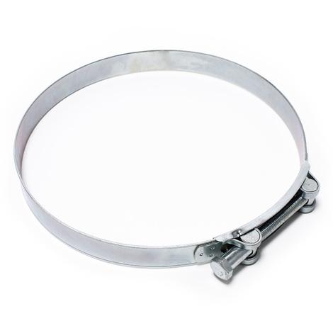 Hose clamp W1 galvanized steel 240-252 mm bolt grip width 26mm