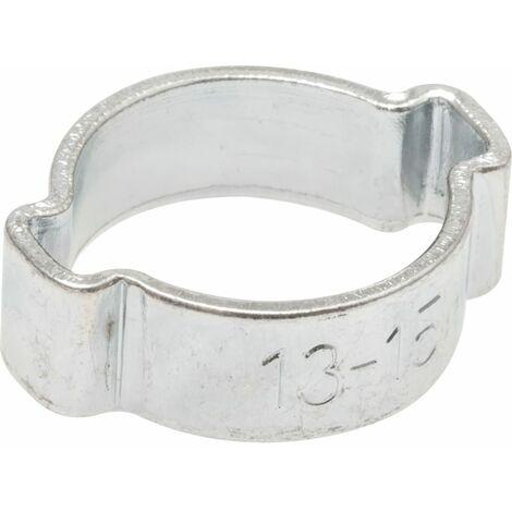 Hose Clip, Steel - BZP (Bright Zinc Plated) - O-Clip - DIN 2393 C