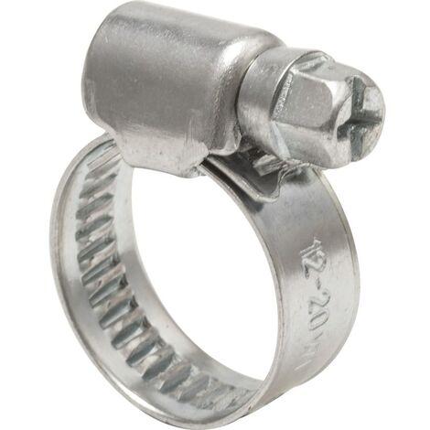 Hose Clip, Steel - Zinc Plated - DIN 3017