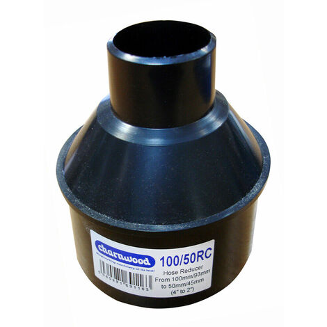 """Hose Reducer 100mm to 50mm (4"""" to 2"""")"""