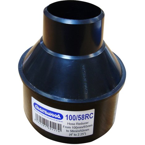 """Hose Reducer 100mm to 58mm (4"""" to 2.25"""")"""