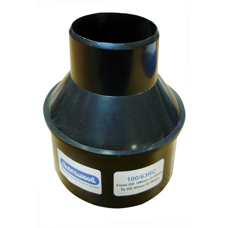 """Hose Reducer 100mm to 63mm (4"""" to 2.5"""")"""