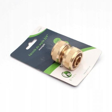 Hose repair unit 3/4 '' coupler brass fitt