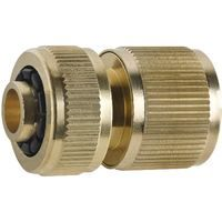 """Hose To Quick Connection Fitting Brass Quickfit Connect Hosepipe 3/4"""" Diameter"""