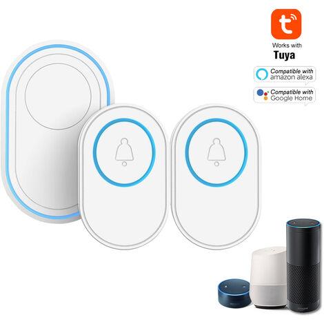 MOES WiFi Mini DIY Persianas enrollables inteligentes,m/ódulo de interruptores para persianas y cortinas con motor el/éctrico,compatible con las Smart Life//Tuya App Alexa y Google Home