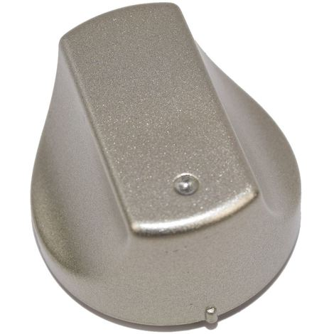 """main image of """"Hot-Ari ix Control Switch Knobs for Hotpoint Ariston Indesit Oven Cooker Hob Silver Pack of 1"""""""
