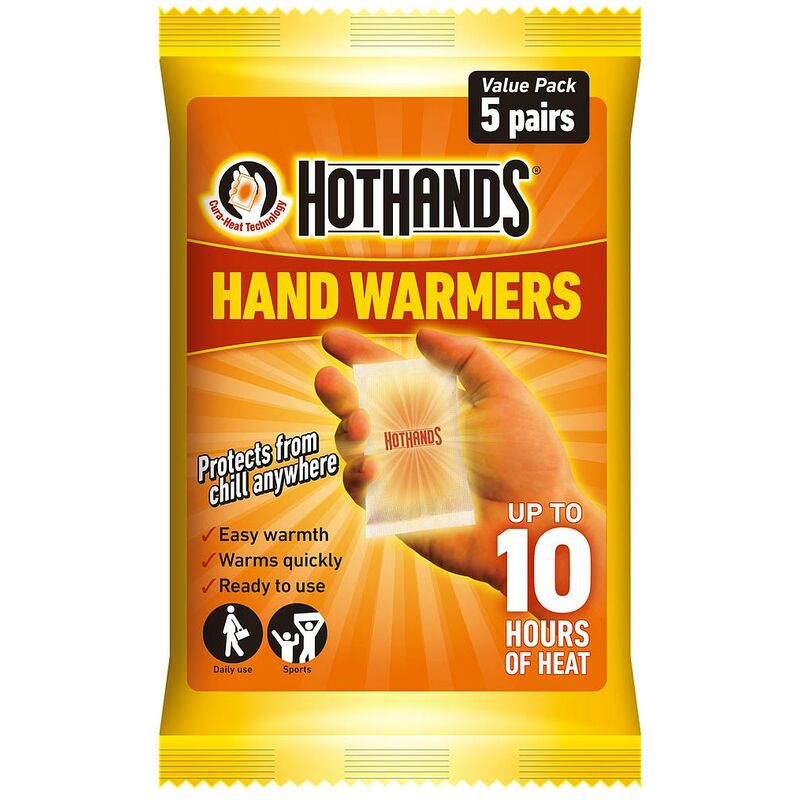 Image of Hand Warmers - Value Pack of 5 Pairs - Hot Hands