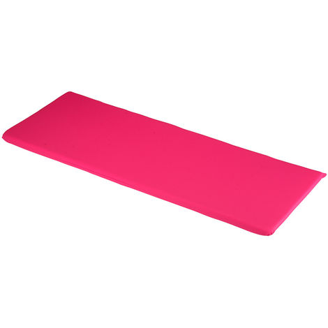 Hot Pink 3 Seater Bench Cushions 141 x 48 x 4cm