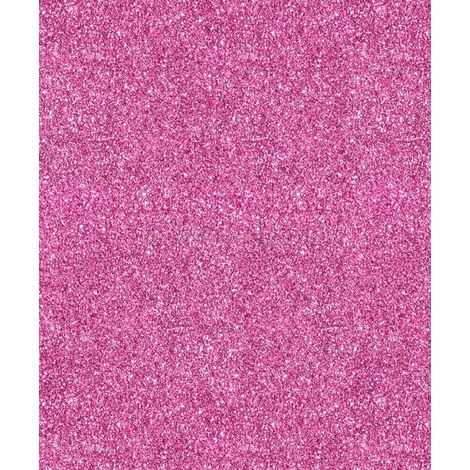 Hot Pink Sparkle Glitter Wallpaper Quality Designer Heavy Weight Vinyl 701356