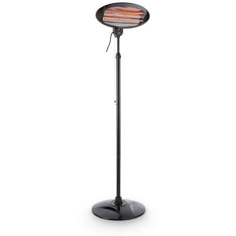 Hot Roddy radiateur infrarouge de terrasse IP34 650/1300/2000W noir