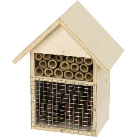 Hôtel à insectes 14x9x18 cm