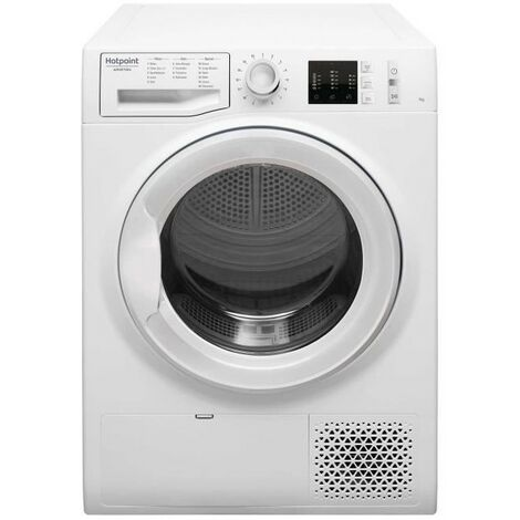 HOTPOINT Sèche-linge frontal Condensation 7kg Easy-Cleaning 67dB - Blanc