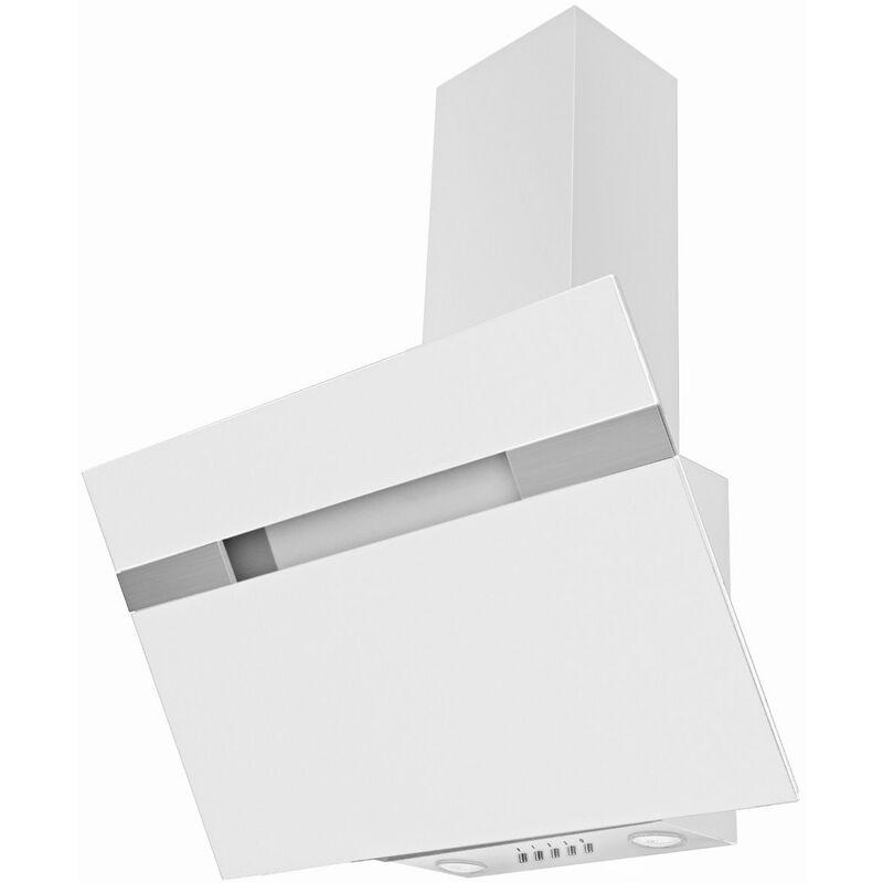 Mercatoxl - Hotte amica KH W 90 cm LED blanc Hauteur oblique
