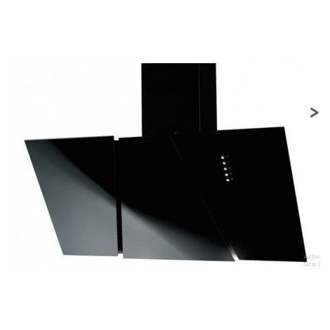 Hotte aspirante CETAK BLACK 90 cm - Noir