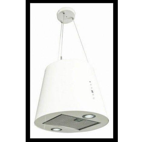 Hotte aspirante îlot ODYSSEY 40cm - Couleur: Blanc