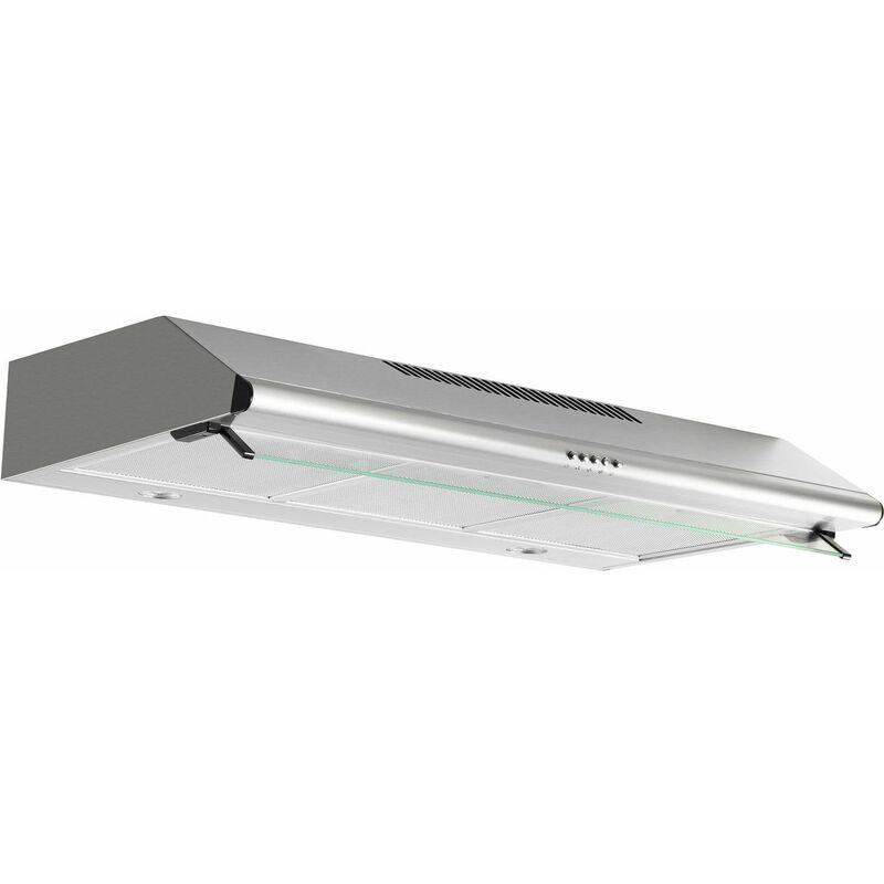hotte classique 80cm 350m3/h inox - ahc840ix - airlux