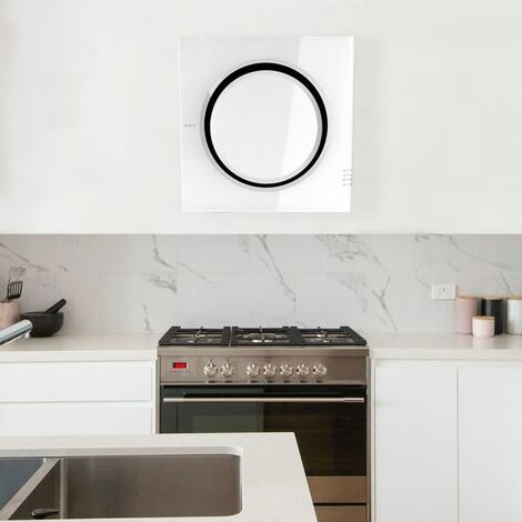 Hotte cuisine Elica murale blanche MINI OM 55 cm