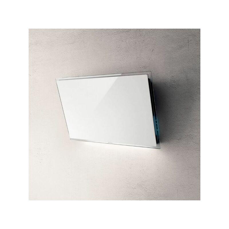Hotte cuisine murale ELLE verre blanc 80 cm - Elica