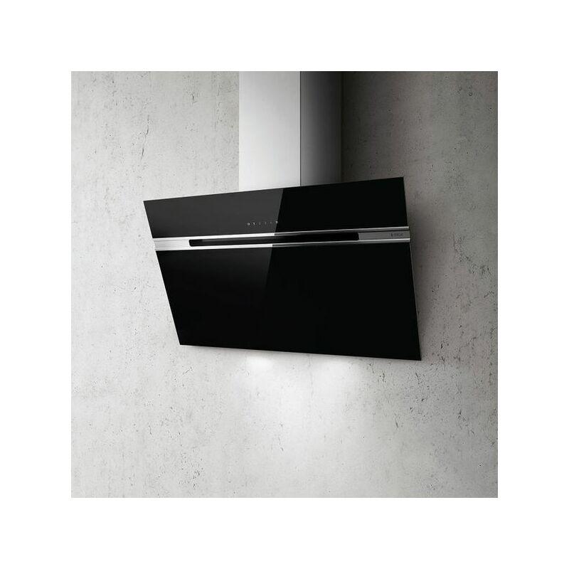 Hotte cuisine murale STRIPE LUX noir 90 cm - Elica