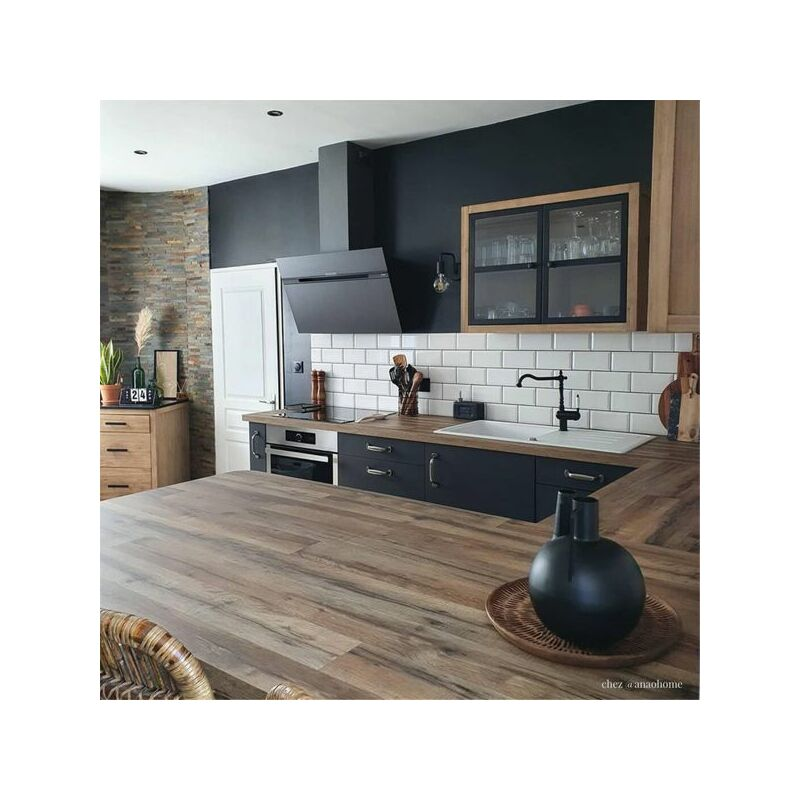 Hotte cuisine murale STRIPE URBAN fonte 90 cm - Elica