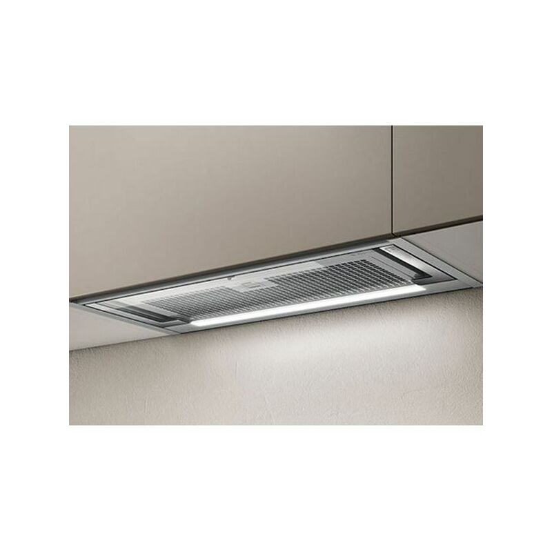 Hotte cuisine encastrable Elica GLASS OUT inox - 897