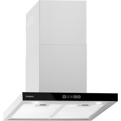 Hotte de cuisine aspirante Silencieuse Bredeco 636,5 m³/h Largeur 60 cm