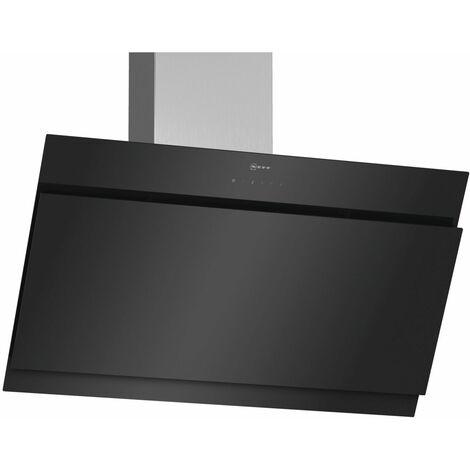 hotte décorative inclinée 90cm 680m3/h noir - d95ihm1s0 - neff