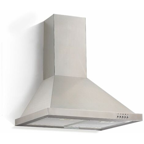 Hotte d'Umluftset LED 60cm + activé par le filtre à charbon