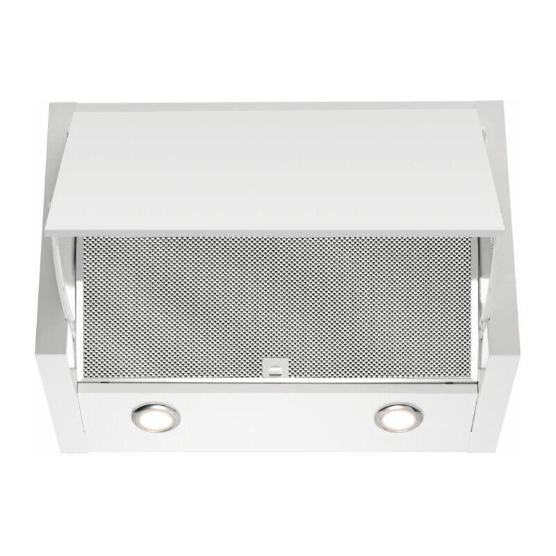 hotte escamotable 60cm 69db 650m3/h blanc - lfe116w - electrolux