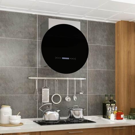Hotte murale à écran tactile LCD 756m3/h éclairage LED 30CM - MJ50668