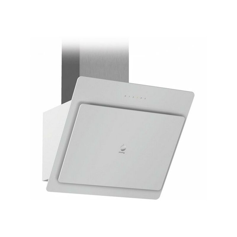 Hotte standard 3BC567GB 60 cm 660 m3/h 48 dB Verre Blanc - Balay