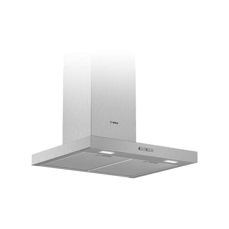Hotte standard DWB66BC50 60 cm 590 m3/h 69 dB 220W Acier inoxydable - Bosch