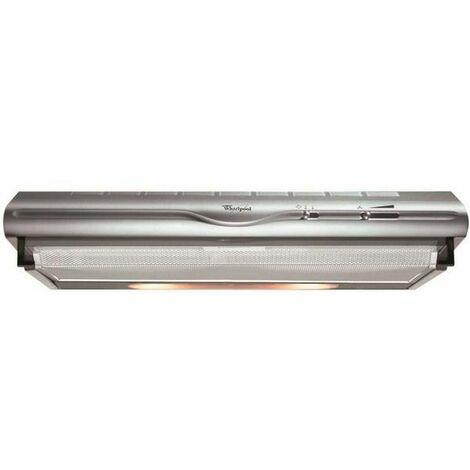 hotte visière 60cm 248m3/h inox - akr4411ix - whirlpool