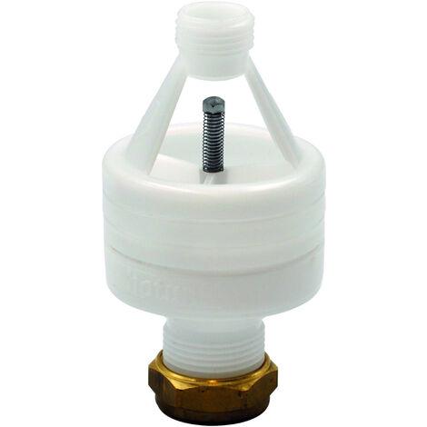 Hotun 15mm x 22mm Odour Seal Dry Trap Tundish HW100C - White
