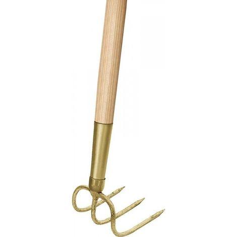 Houe de jardin 3 dents avec manche 135 cm (Par 5)