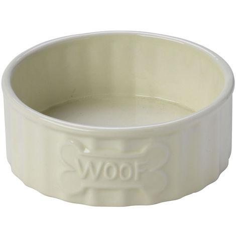 House of Paws Woof Bone Dog Bowl