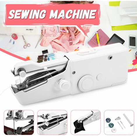 Household Convenient Cordless Portable Stitch Portable Sewing Machine Costume Designer Quick Repair Home Travel Emergency Tool