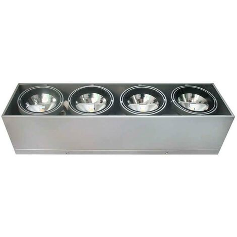 Housing para Downlight Led, KARDAN HIDRA, 4 focos