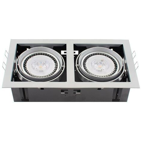 Housing para Downlight Led, KARDAN TOR, 2 focos